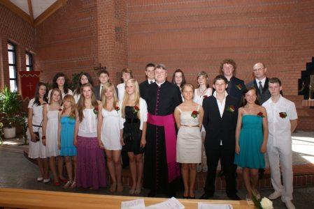 Triguba šventė Vasario 16-osios gimnazijoje