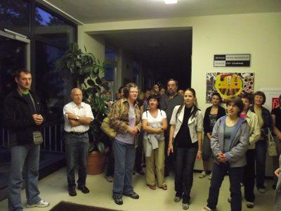 Gimnazijoje – svečiai iš Molėtų krašto
