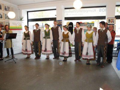 """Unsere Schüler bei den """"Litauischen Tagen"""" im Saarland"""