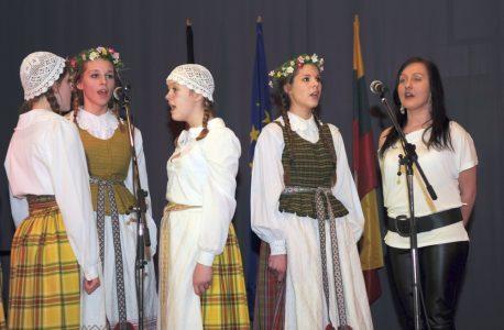 Lietuvos Nepriklausomybės minėjimas Hüttenfelde