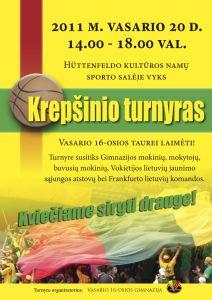 Krepšinio turnyras Vasario 16-osios taurei laimėti