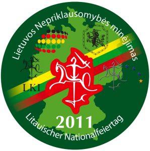 Lietuvos Nepriklausomybės minėjimas Hüttenfelde š.m. vasario 26 d.! Kviečiame atvykti!