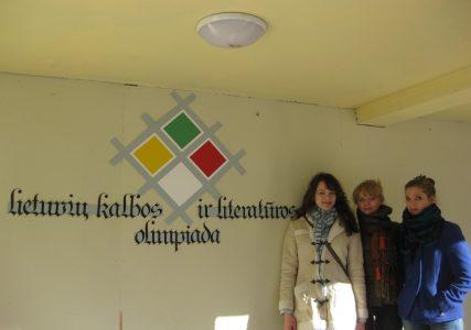 Mūsų mokiniai Lietuvių kalbos olimpiadoje