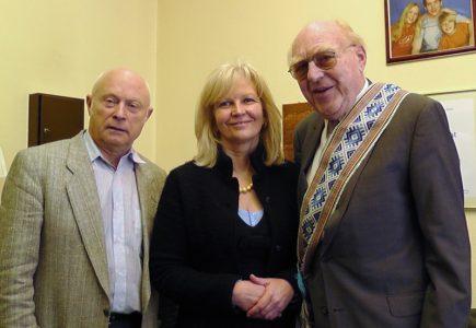Mūsų mokytojas Aloys Weigel atšventė 80-ąjį gimtadienį