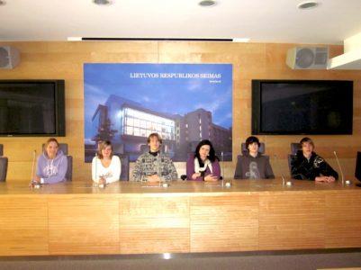 Devintokų išvyka į Lietuvą 2011 m. rudenį