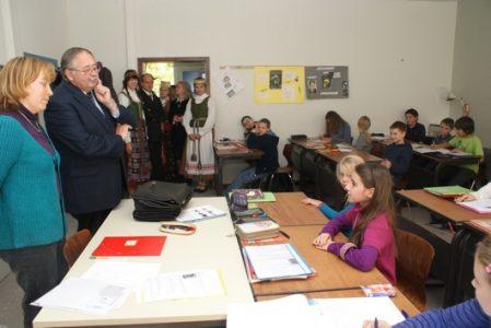 Heseno žemės Landtago prezidento Norbert Kartmann vizitas