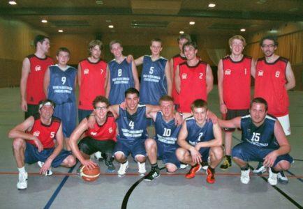 Draugiškos krepšinio rungtynės Lampertheime
