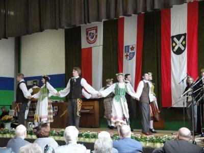 Gimnazistai pasirodė Dainų draugijos šventėje