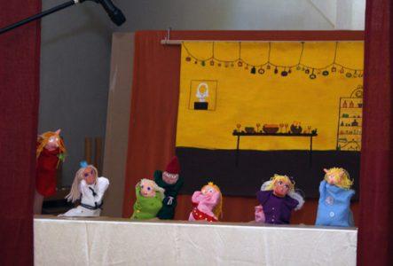 5-os klasės lėlių teatras