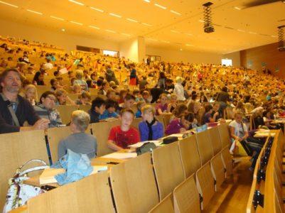 Kelionė į vaikų universitetą Frankfurte prie Maino