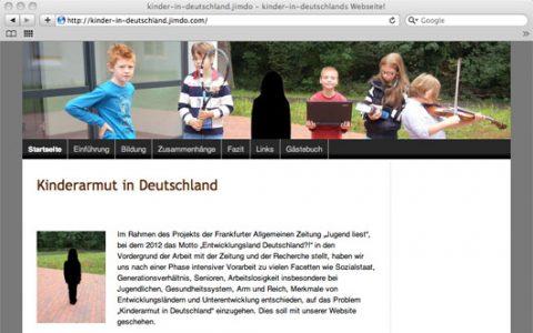 Jugend liest – PoWi-Schüler erarbeiten Projekt über Kinderarmut in Deutschland