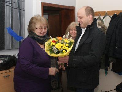 Herzlichen Glückwunsch – Frau Lipschis!