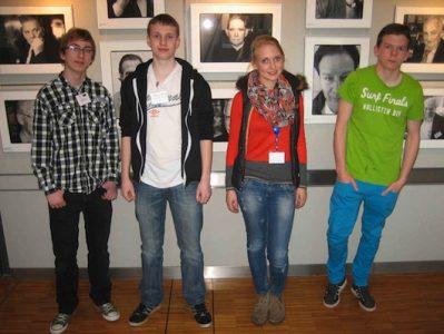10 klasės gimnazistai – moksliniame simpoziume Heidelbergo universitete