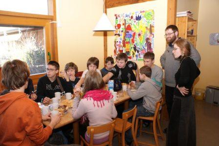 Gimnazijos ateitininkų kuopa – rekolekcijose Niurnberge