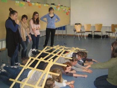 "Europa leben – Europas Jugend begegnet sich bei der ""SchulBrücke"""