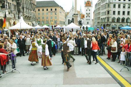 Gimnazistai Europos dienose Miunchene