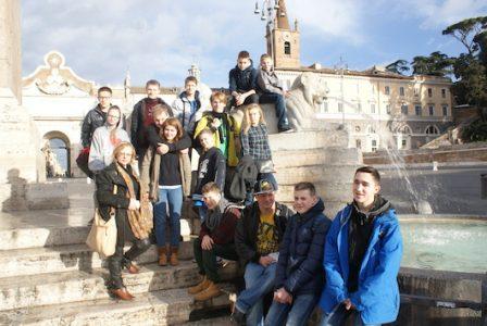 Gimnazistų nuotykiai Romoje