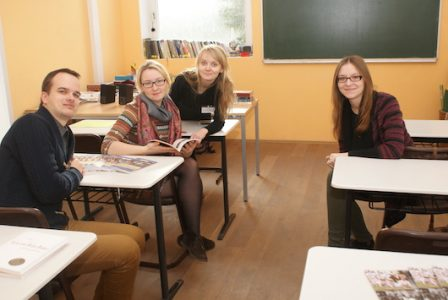 Studentai praktikantai
