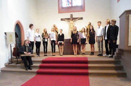 Gimnazijos vokalinio ansamblio koncertas