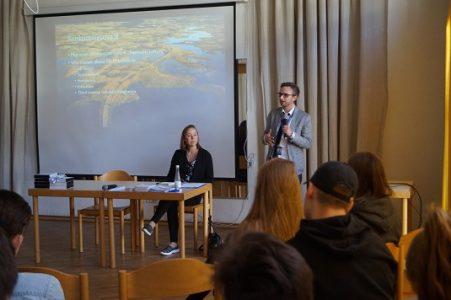 Tarptautinės migracijos organizacijos Vilniaus biuro atstovų paskaita