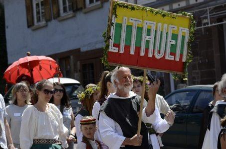 Gimnazijos atstovai Viduramžių kultūros festivalyje Maulbronn