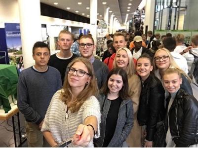 Gimnazistai lankosi Frankfurto prie Maino Gėtės universitete