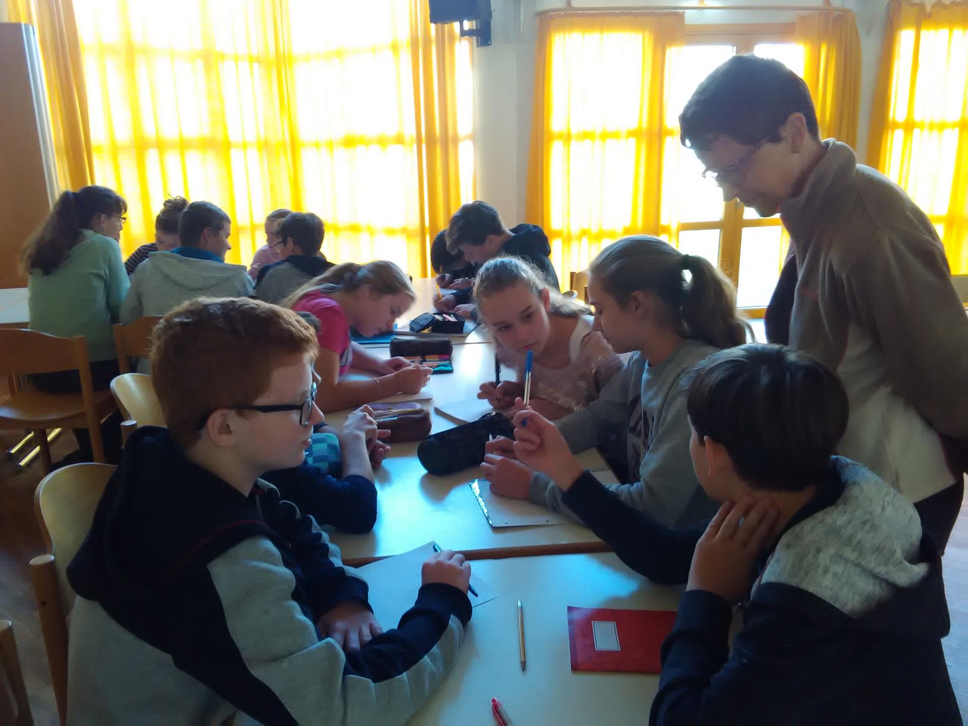 Moksleivių mainai – Gimnazijoje svečiuojasi mokiniai iš Čekijos