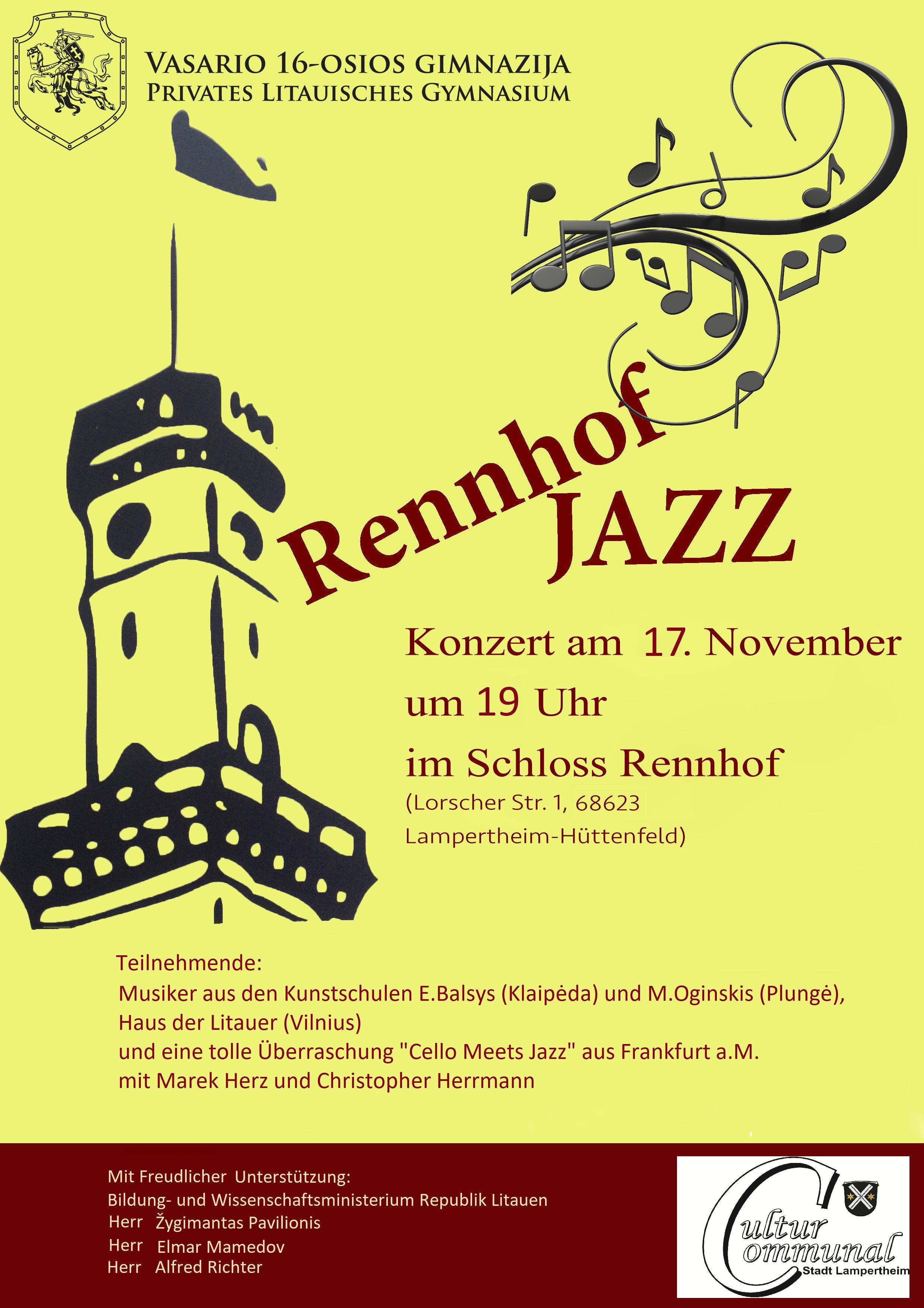 Rennhof Jazz, 2017