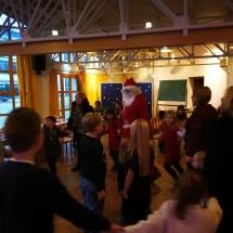 Kalėdų Senelis aplankė jaunuosius akademikus (Foto: R.Lendraitis)