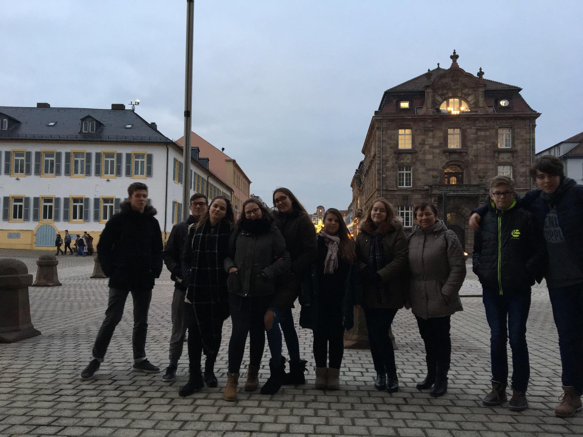 Katalikiškas jaunimas lankosi Speyeryje