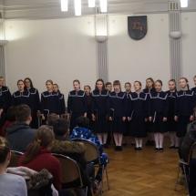 Klaipėdos E.Balsio menų gimnazijos choro koncertas, 2017 (Foto: M.D.Šmitienė)