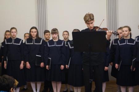 Klaipėdos E. Balsio menų gimnazijos choro koncertas, 2017