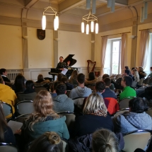 """""""Klaros Šuman salono"""" koncertas (Foto: R. Lendraitis)"""