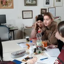 """Filmanalyse im Unterricht - Workshop zur Verfilmung von Büchners Dramenfragment """"Woyzeck"""" (Foto: Dr. G. Hoffmann)"""