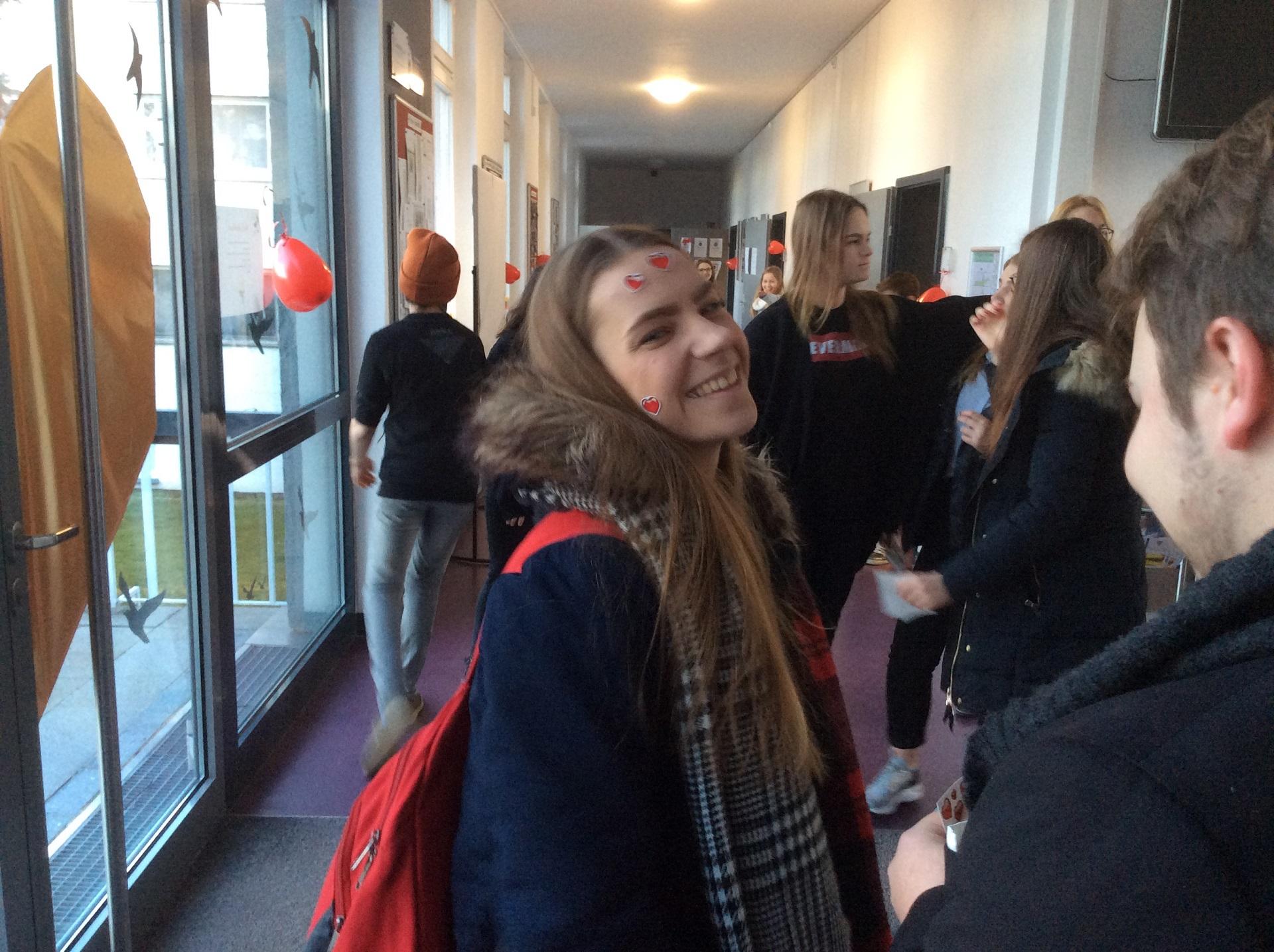 Gimnaziją aplankė Valentinas, 2018