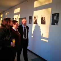 """Mindaugo Norkaus fortografijų paroda """"Akimirkos"""" ir lietuviškų filmų popietė (Foto: R. Lendraitis)"""