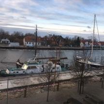 Erste Impressionen von der SchulBrücke Europa in Greifswald (Foto: M. Angert)