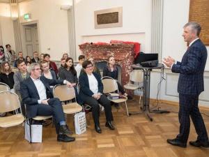 Wissenschaftlicher Vortrag im Litauischen Gymnasium zum Thema