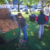 Schulgartenerweiterung (Foto: R. Lendraitis)