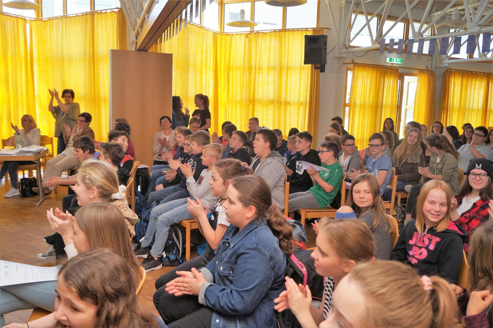 Europos diena Vasario 16-osios gimnazijoje, 2018