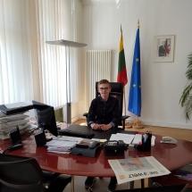 Pažintis su diplomatine atstovybe (Foto: I. Sattler)