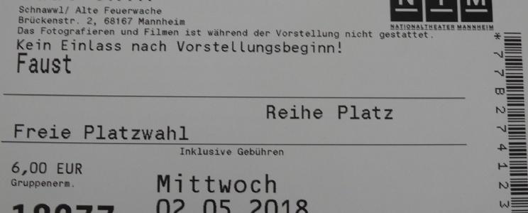 """Išvyka į Manheimo nacionalinio teatro spektaklį """"Faustas"""""""