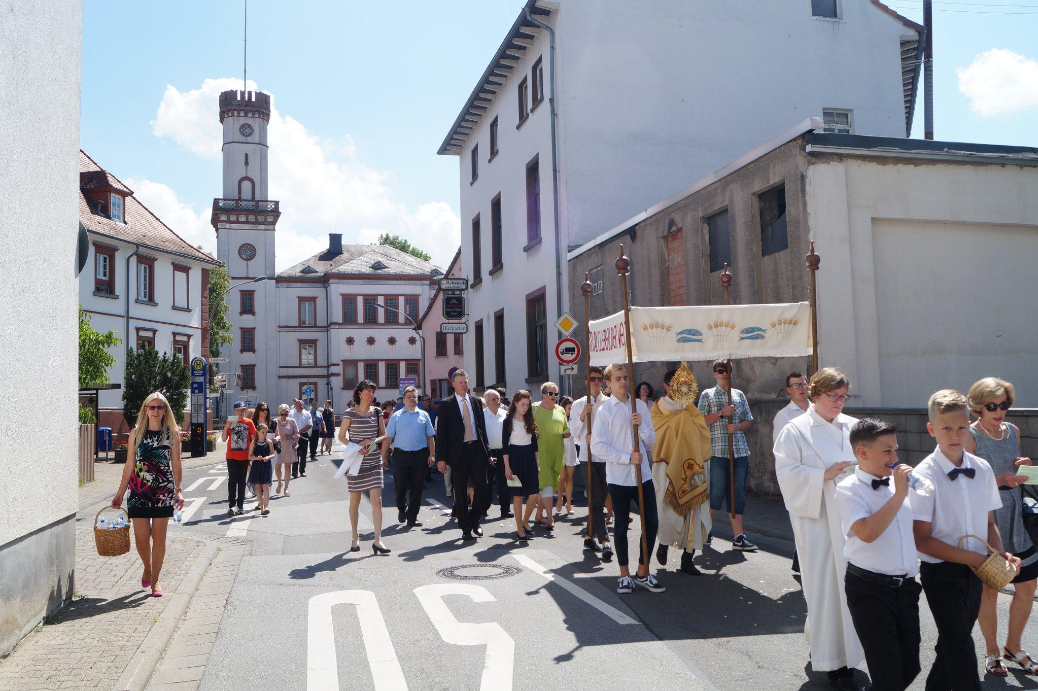 Devintinių procesija, 2018