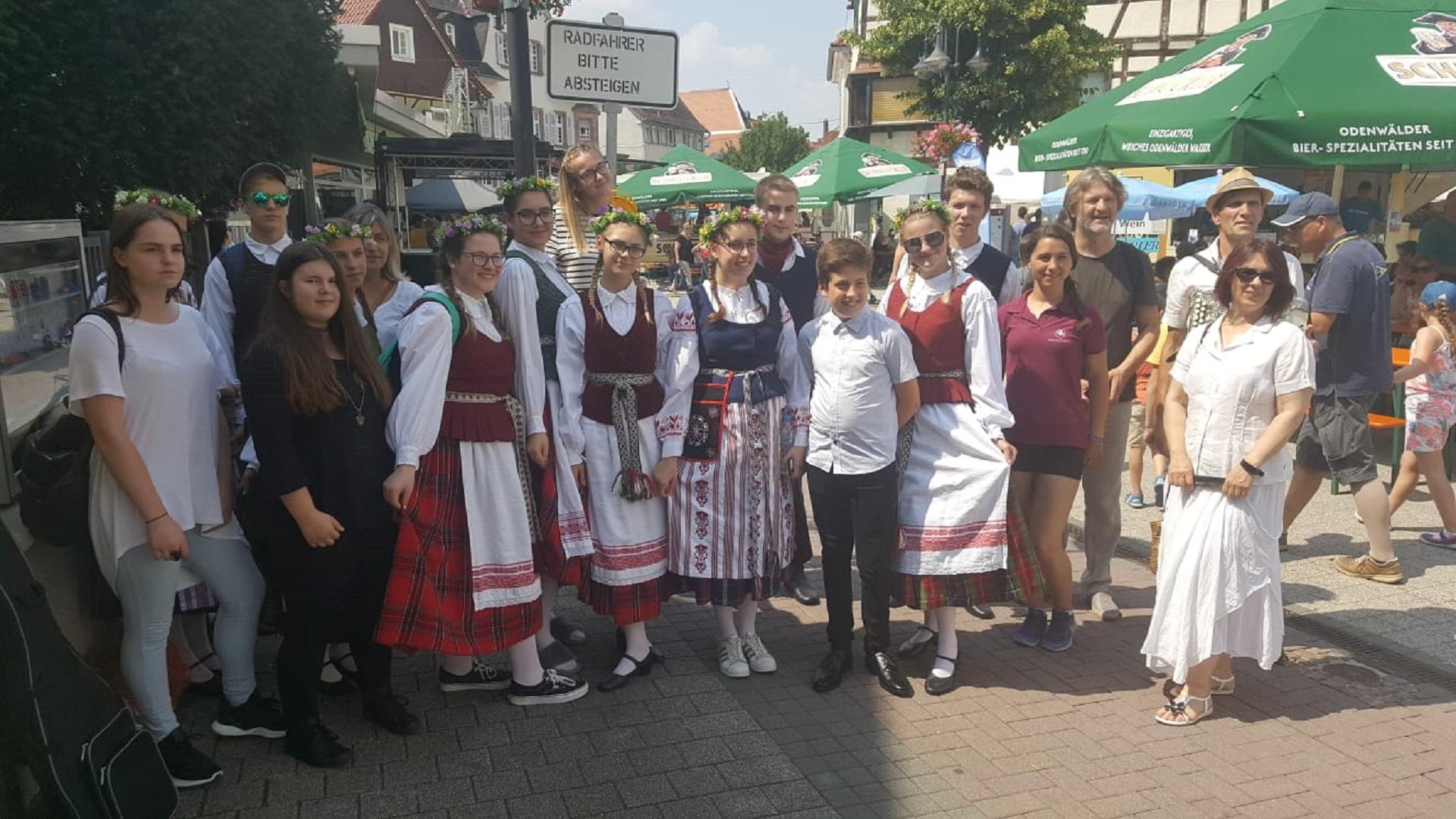 Jaunimo festivalyje Bensheime, 2018
