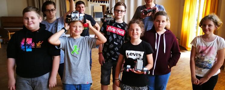 """Lego-Mindstorms"" robotų kova"