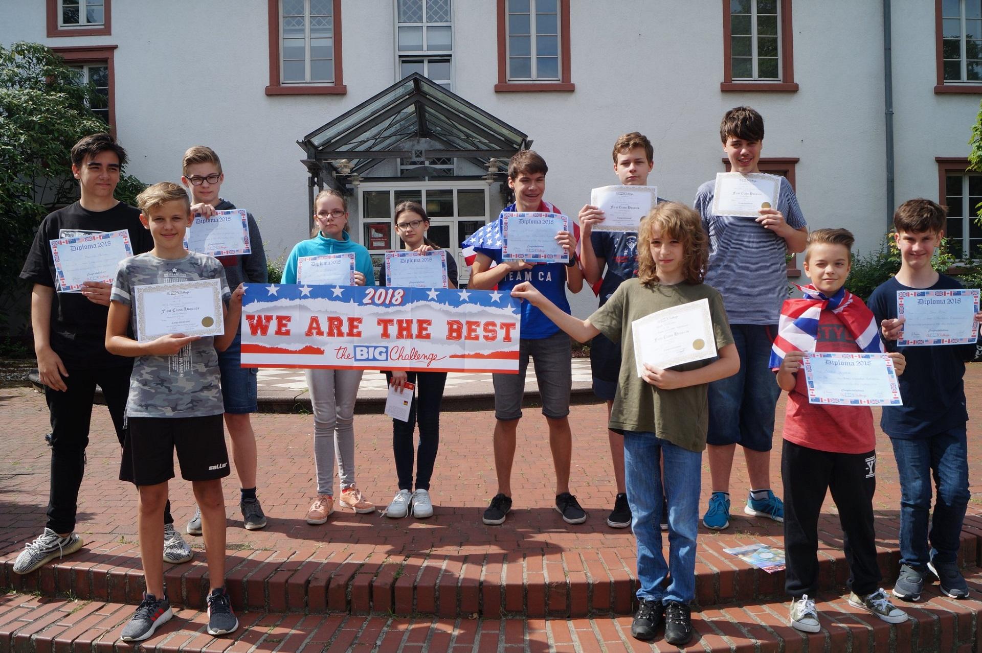 "Anglų kalbos konkursas ""The Big Challenge"" (Foto: M. D. Schmidt)"