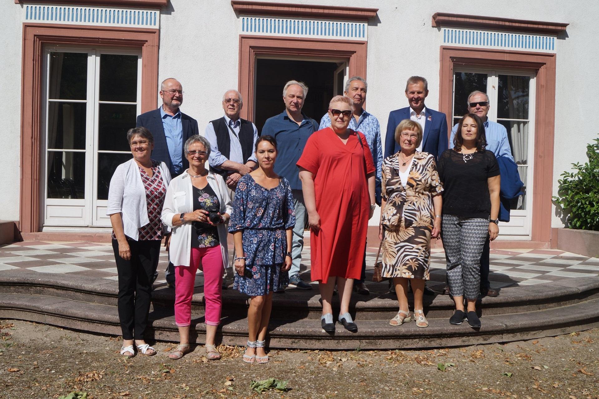 Gimnazijoje lankėsi svečiai iš Tauragės