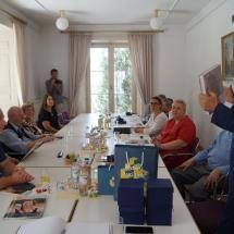 Gimnazijoje lankėsi svečiai iš Tauragės (Foto: M. D. Schmidt)
