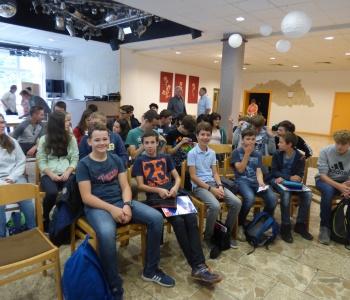Edukacinės dirbtuvės Auerbache – bendradarbiaujame ugdydami gabius mokinius