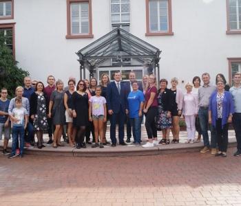 Lietuvos Respublikos ūkio ministro vizitas
